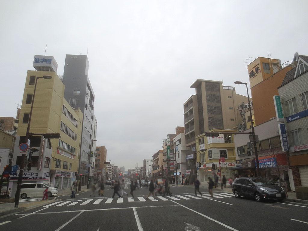 岡本辺りの風景です。