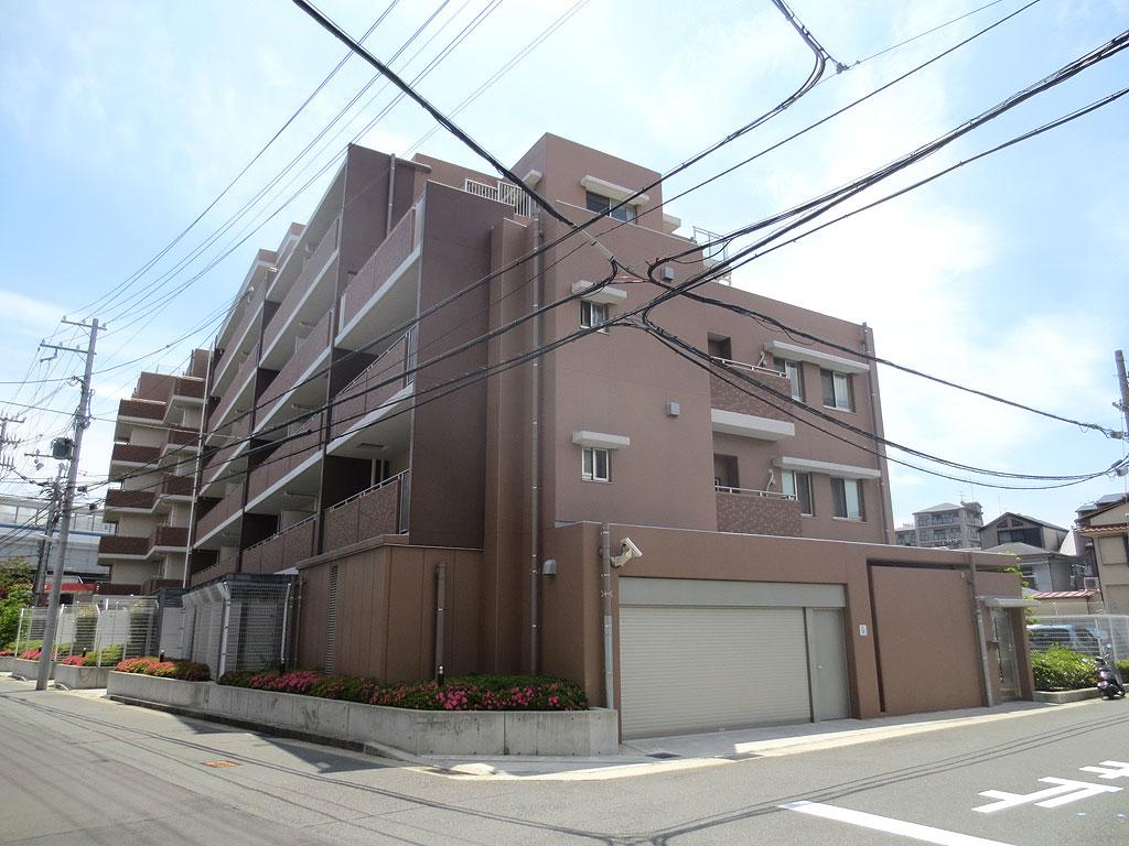 阪神青木駅のマンション。