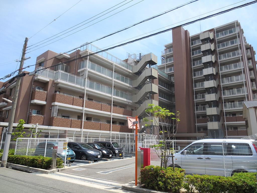 学校も近い東灘区のマンション。